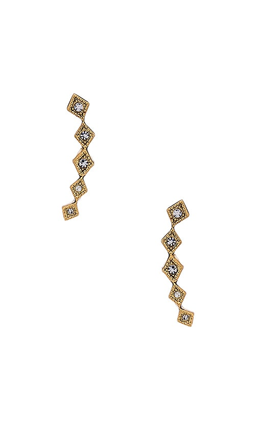 The Diamond Kite Crawler Earring