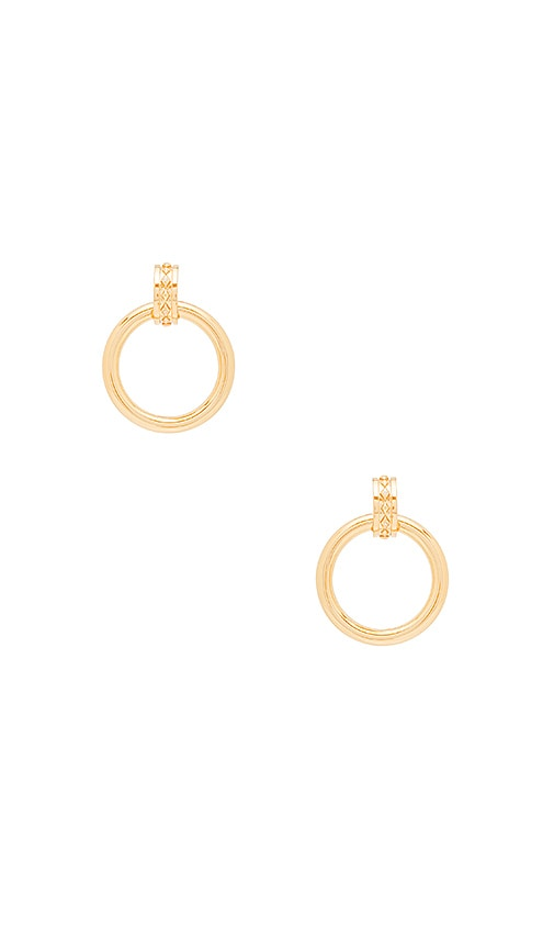 Evil Eye Statement Hoop Earrings