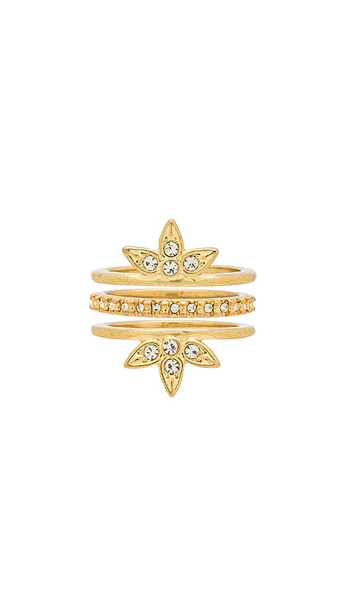 Posie Pave Ring Set