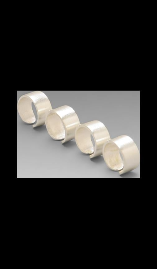 The Plain Ring Tall (Set of 4)