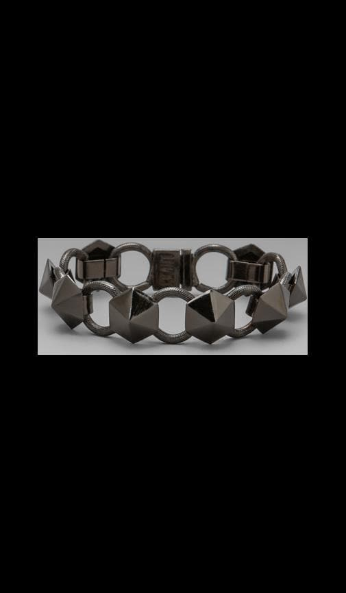 The Pyramid Stud Tennis Bracelet