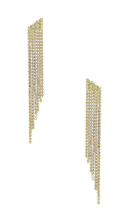 The Cascading Chain Earrings