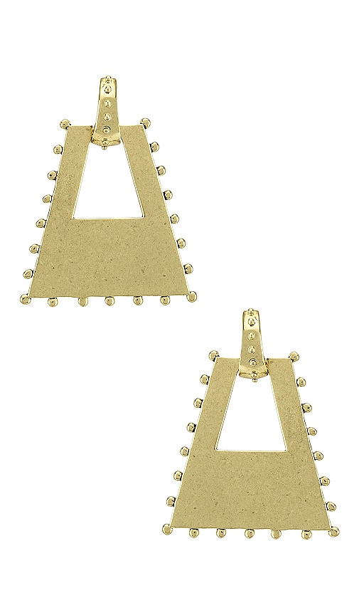 The Zeppelin Statement Hoop Earrings