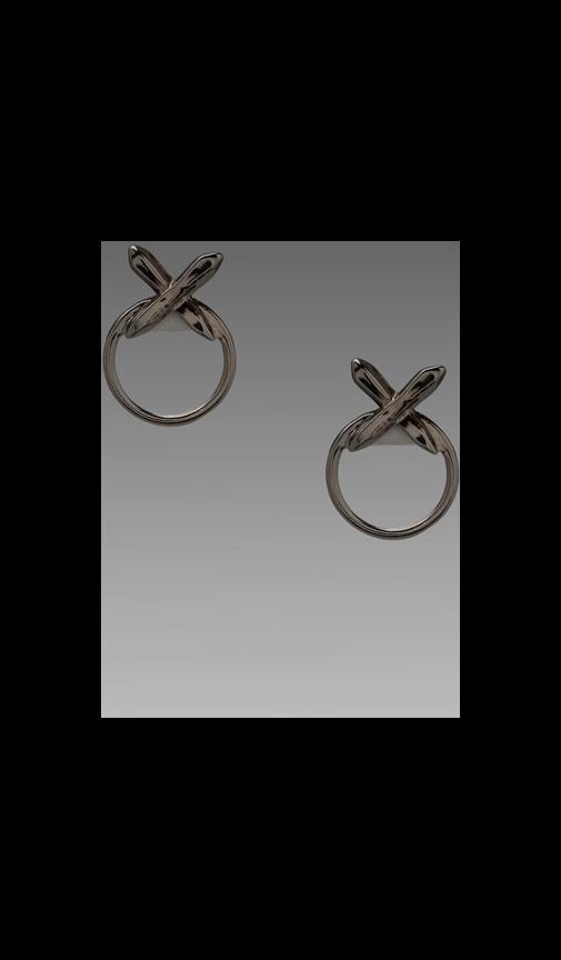The Crystal Cross Statement Earrings