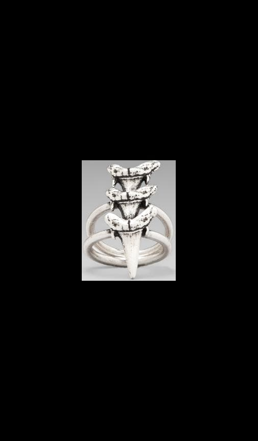 Triple Shark Tooth Ring