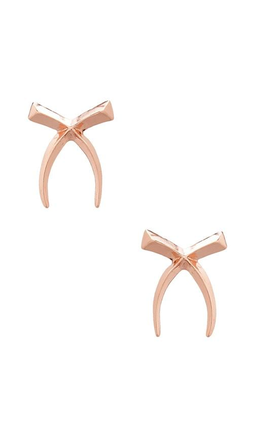 The Cross Tusk Earrings