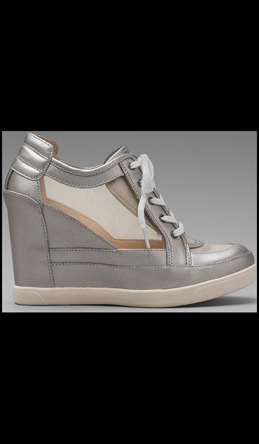 Carlton Mesh Wedge Sneaker