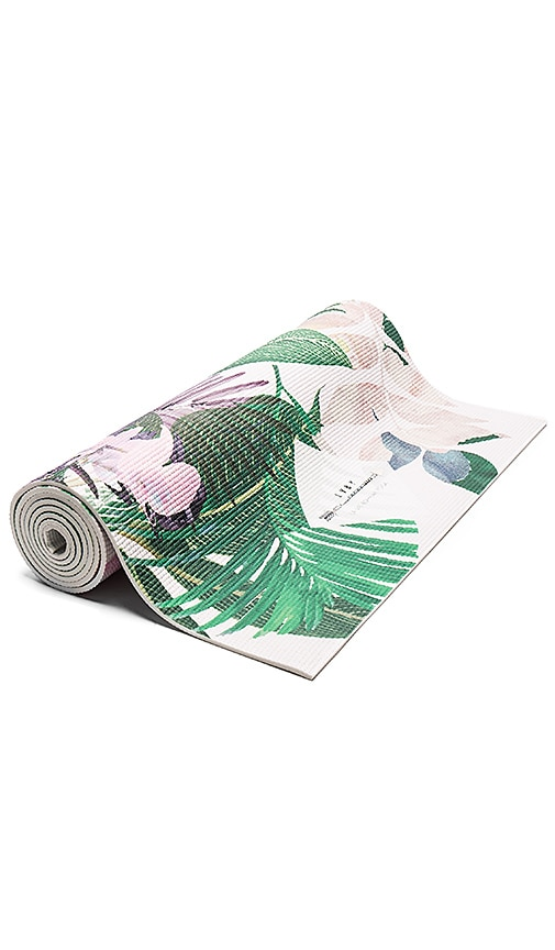 La Vie Boheme Yoga Palm Leaf Yoga Mat