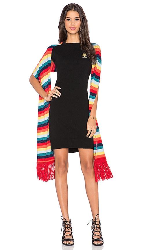 Love Moschino Sweater Dress in Black