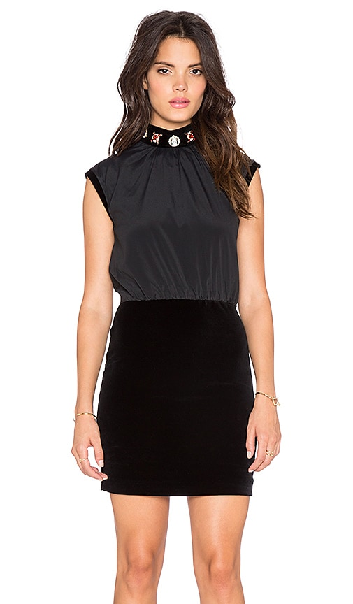 Love Moschino Cocktail Dress in Black
