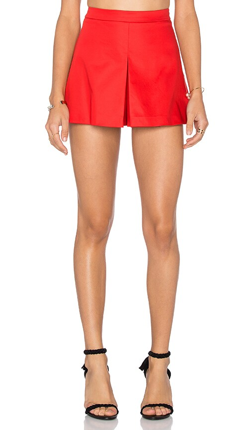 Love Moschino Skort in Red