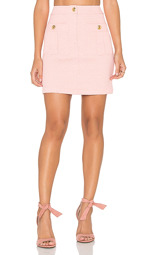 Love Moschino Double Pocket Skirt in Pink