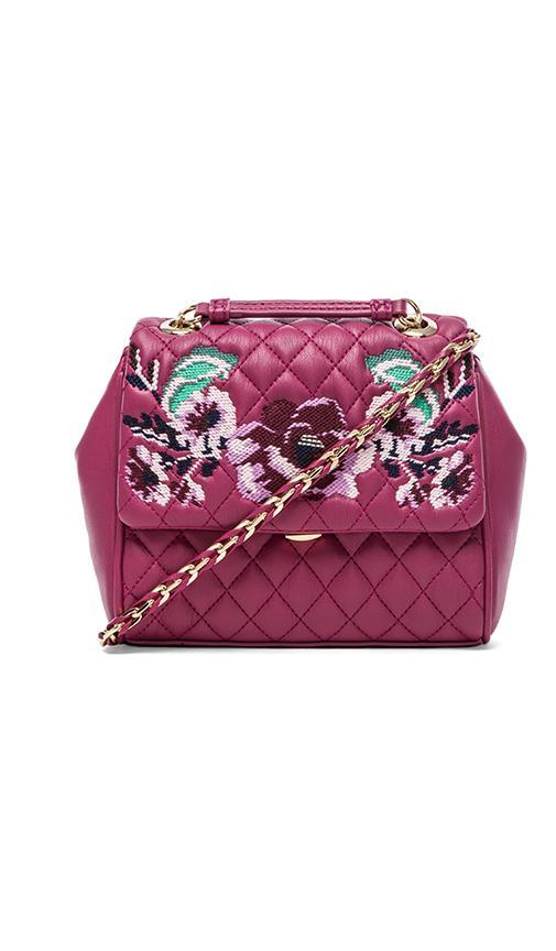 I Love Embroidery Shoulder Bag