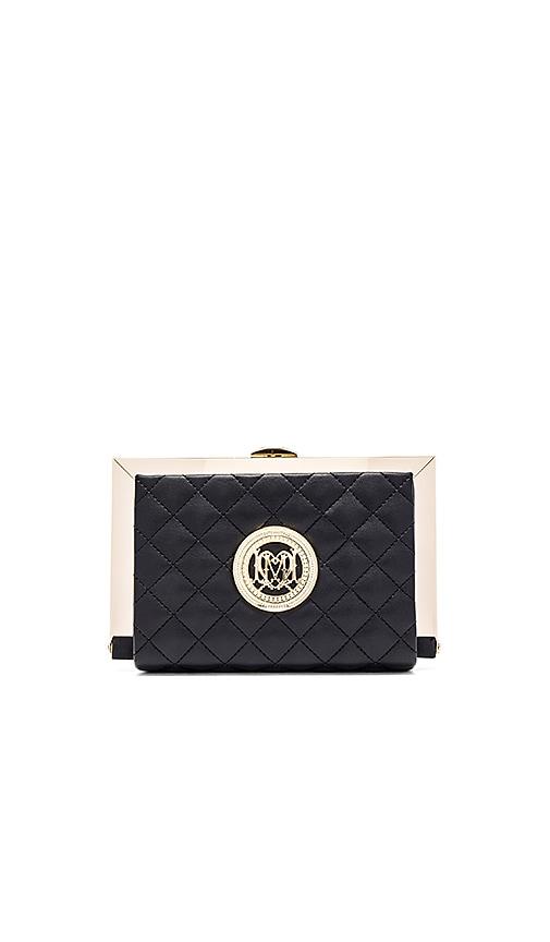Love Moschino Box Clutch in Black