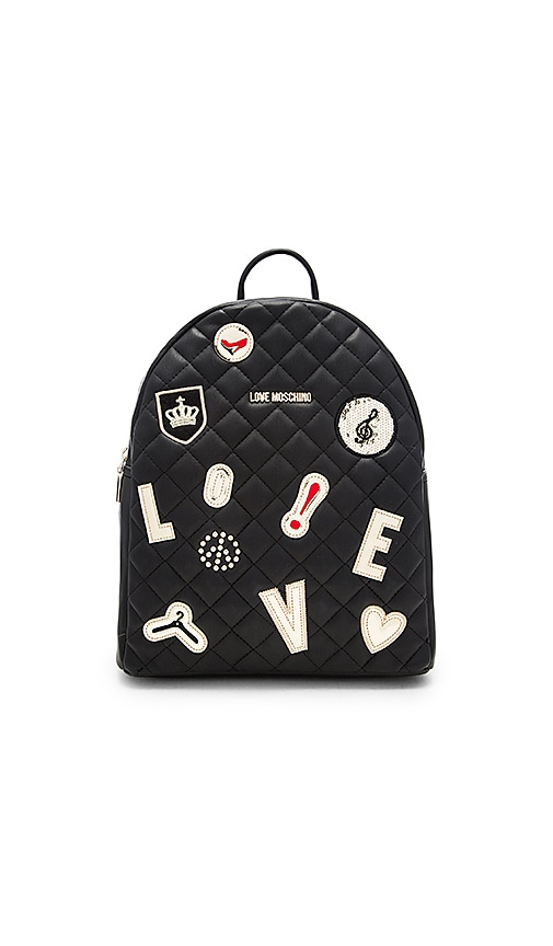 Patch Quilted Backpack