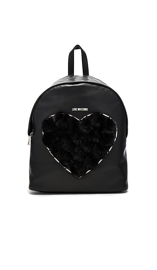 Heart Pom Pom Backpack