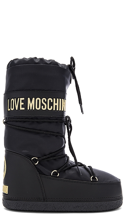 Love Moschino Snow Boot in Black