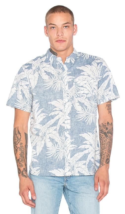 30a9644f1 LEVI'S Premium Hawaiian Shirt in Copen Blue | REVOLVE