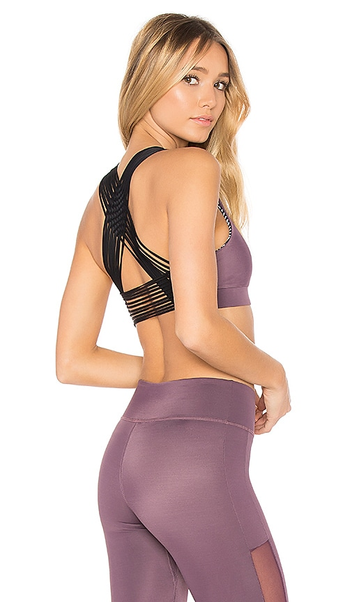Night Bloom Reversible Sports Bra
