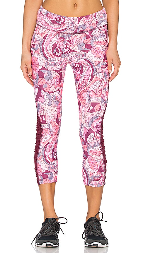 Maaji Garden Buzz Capri Pant in Rushed Track