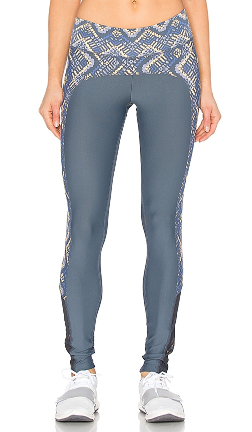 Maaji Flurry Loo Legging in Grey & Multi
