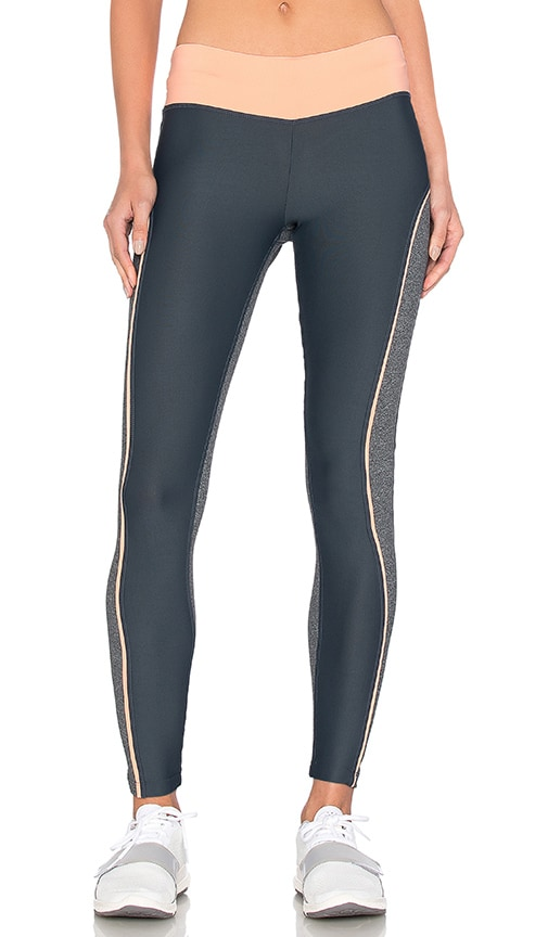Maaji Terrain Block Leggings in Gray
