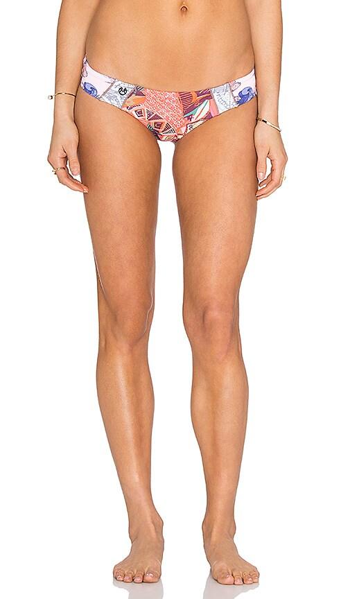 Maaji Dear Hitchhiker Bikini Bottom in Coral
