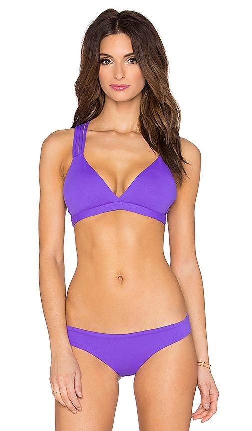 Maaji Violet Trails Bikini Top in Violet