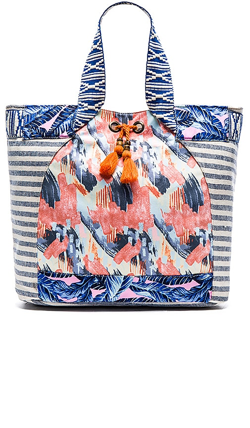 Maaji Beach Bag in Blue Multi | REVOLVE