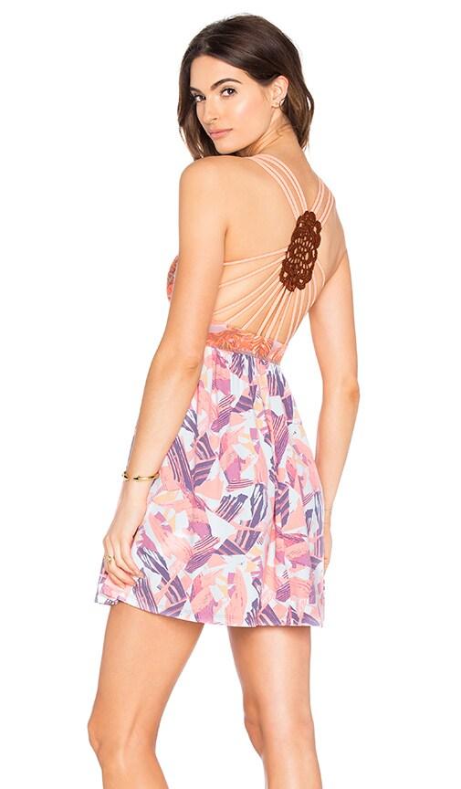 Maaji Amber Palms Dress in Coral