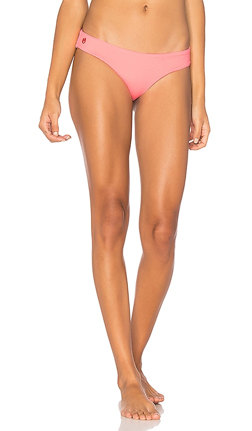 Maaji Reversible Flamingo Wave Bottom in Pink