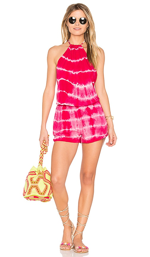 Maaji Berry Lovely Romper in Pink