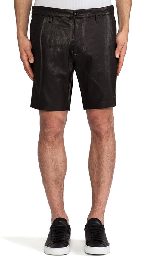 Manuel Leather Short