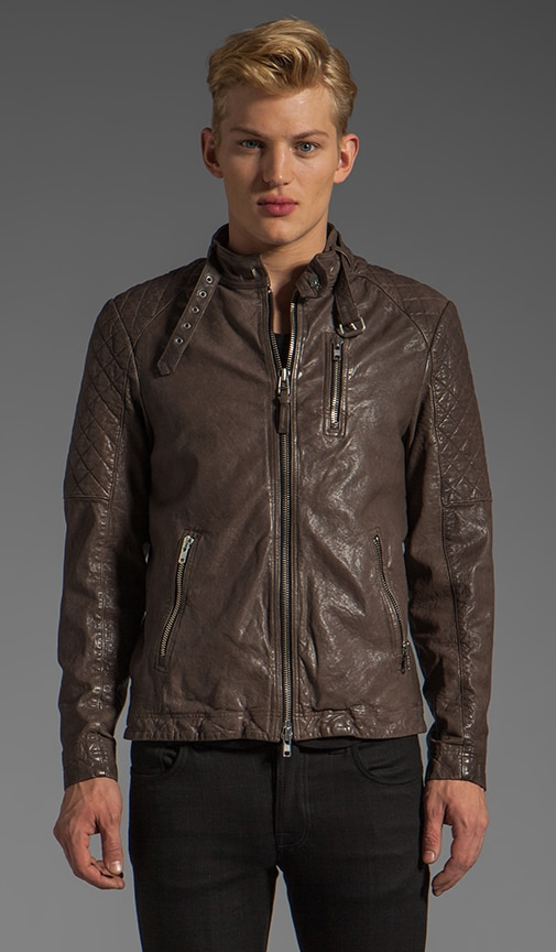 Mateo-C Leather Jacket