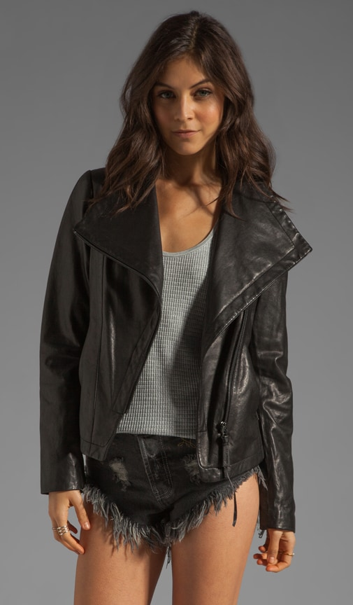 Tribeca Classic Leather Jacket