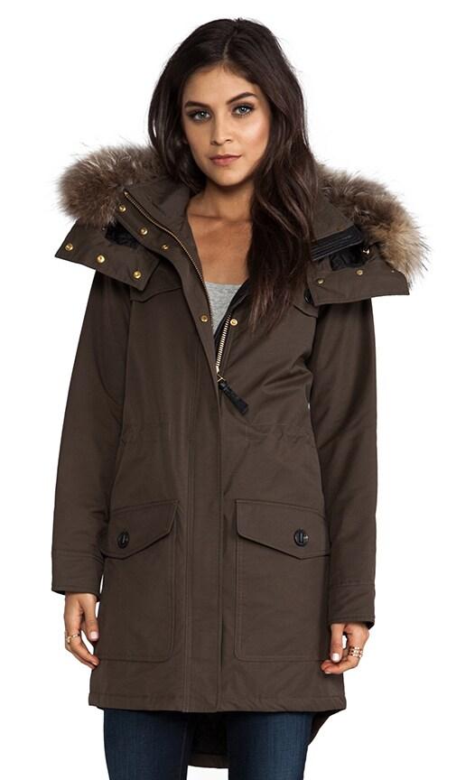Cassandra Peach Lux Jacket