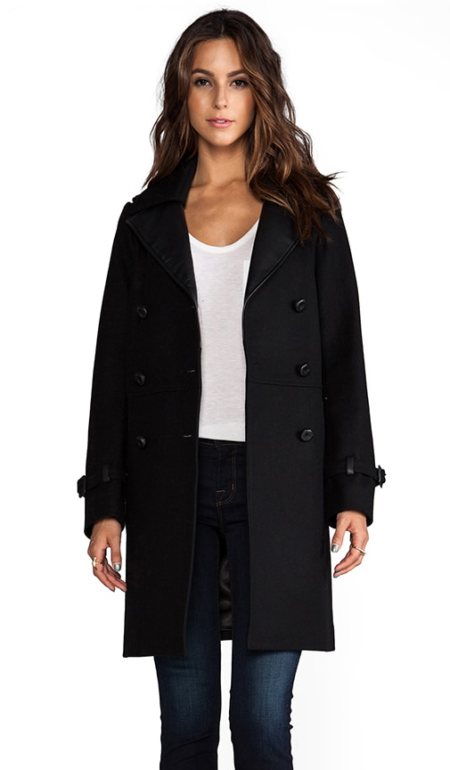 Juniper Flat Wool Coat