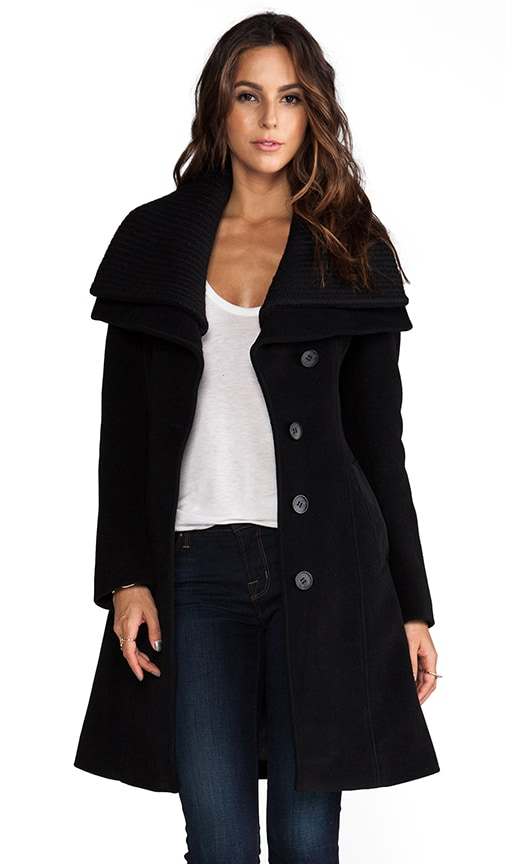 Mona Solid Wool Jacket