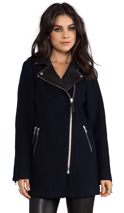 Phylis Flat Wool Coat