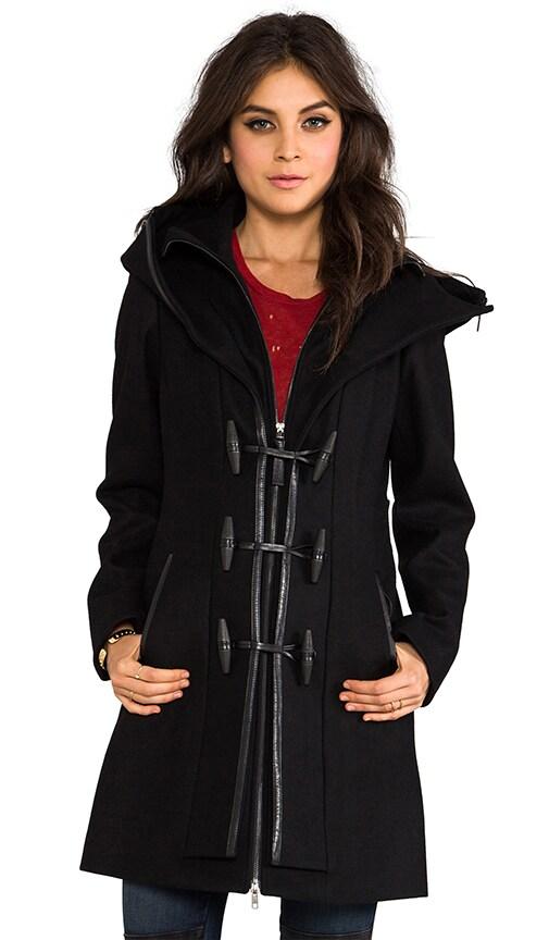 Steffy Flat Wool Coat