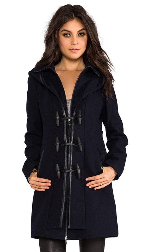 Steffy Flat Wool Coat