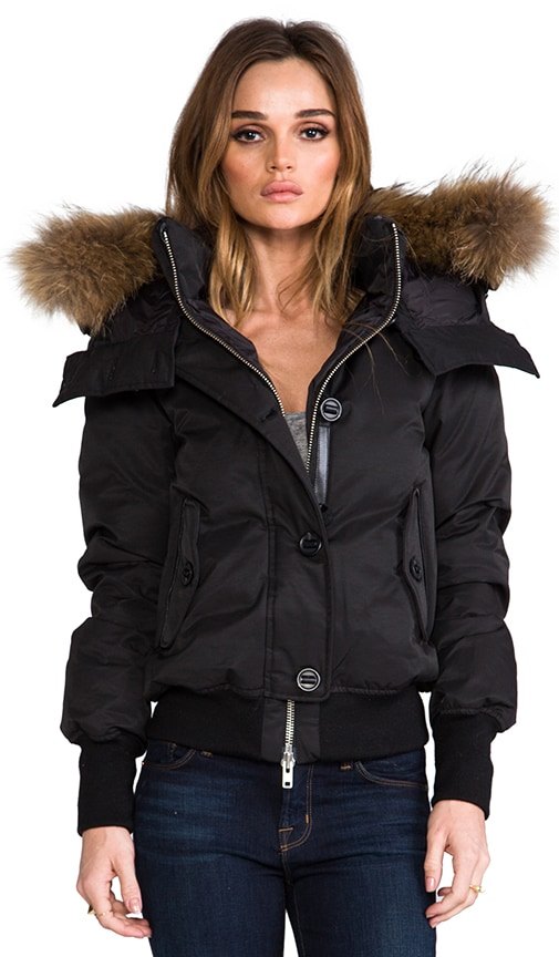 Valerie Peach Lux Down Jacket