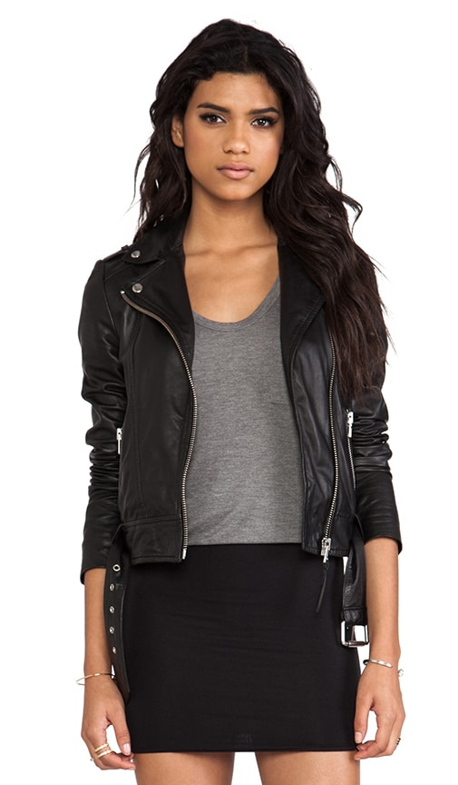 Florica Classic Leather Jacket