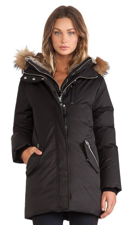 Marla Jacket with Asiatic Raccoon and Rabbit Fur Hood