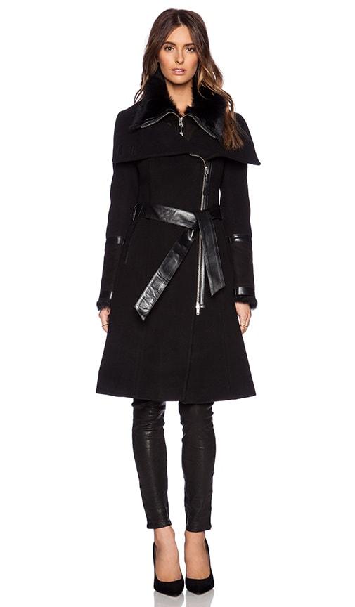 Isabel Jacket with Lamb Fur