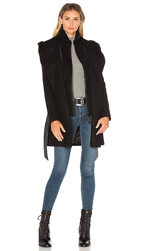 Mackage Siri Coat in Black