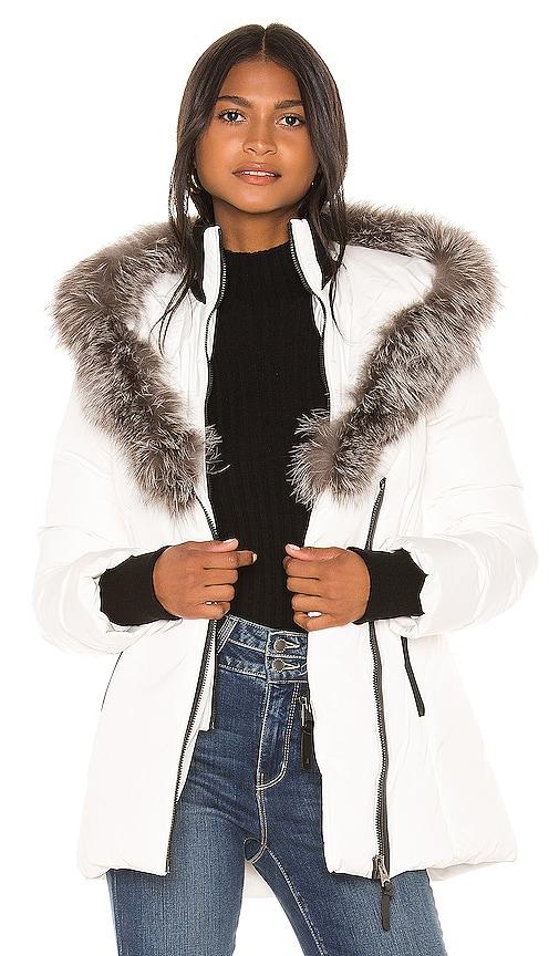 Adali Jacket With Fur Collar