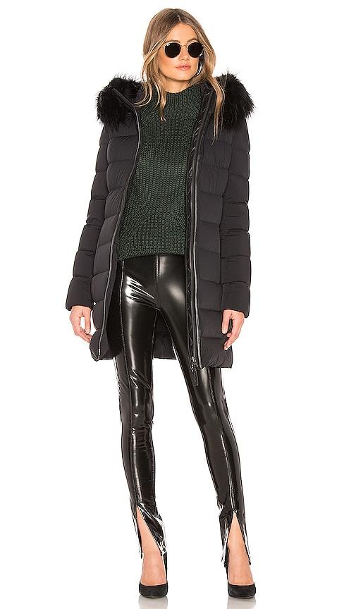 Calla Jacket With Fur Trim