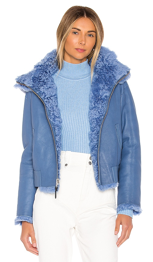 Zinnia Reversible Shearling Jacket