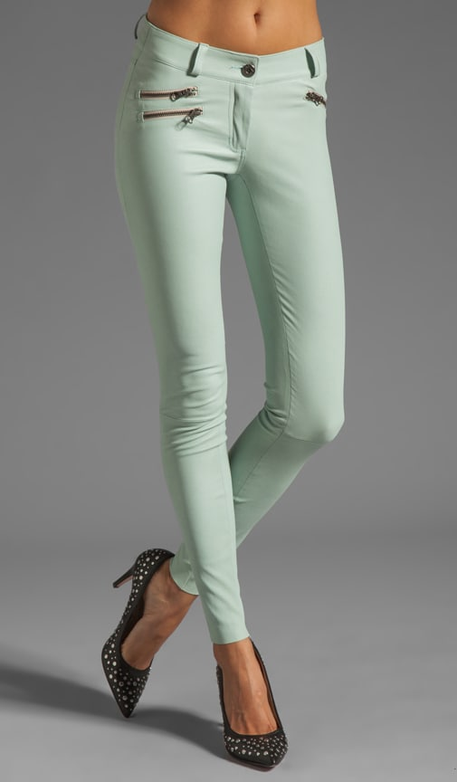Miki Stretch Leather Pant